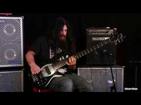 JD DeServio Jams Through Hartke's Kickback KB12 Bass Combo