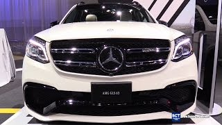 2016 Mercedes-Benz GLS-Class GLS 63 AMG - Exterior and Interior Walkaround - 2015 LA Auto Show