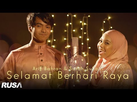 Free Download Ariff Bahran & Sarah Suhairi - Selamat Berhari Raya [official Lyrics Video] Mp3 dan Mp4