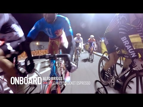 Specialized / Rocket Espresso fighting attacks late into the race - Onboard Alec Briggs
