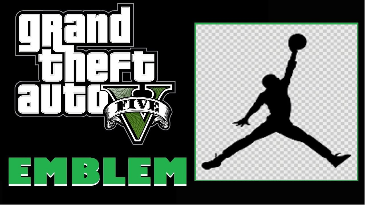 Grand Theft Auto 5 / GTA 5 / GTA V : Jordan / Jumpman Logo ... Grand Theft Auto V Logo