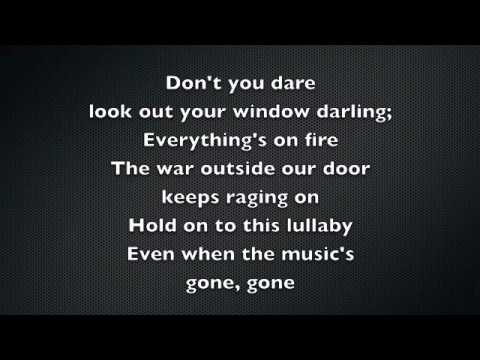 Taylor Swift - Safe and Sound Lyrics