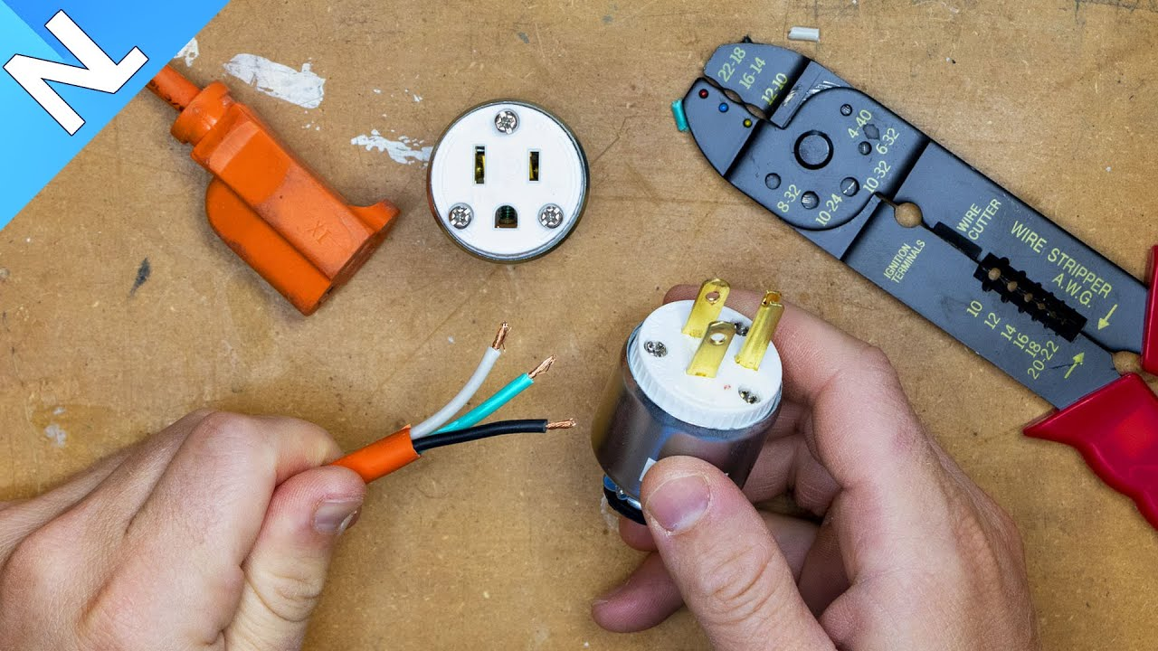 How To Fix An Extension Cord End Youtube