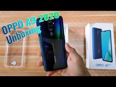 OPPO A9 2020 Unboxing (Gamer Starter Pack Part 1)