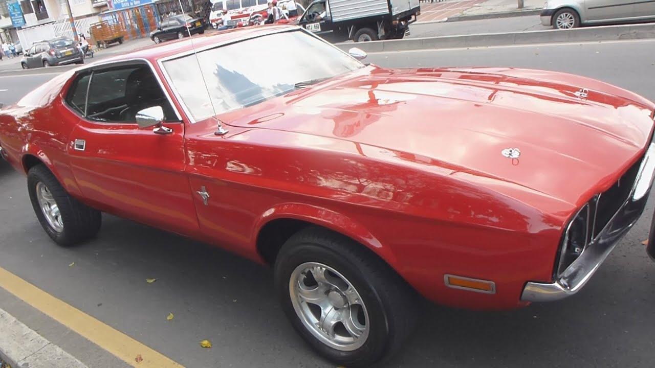 ford mustang mach 1 1971 autos clasicos antiguos feria de cali 2012 ...