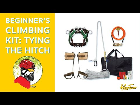 WesSpur Beginner's Climbing Kit: Tying The Hitch With Niceguydave