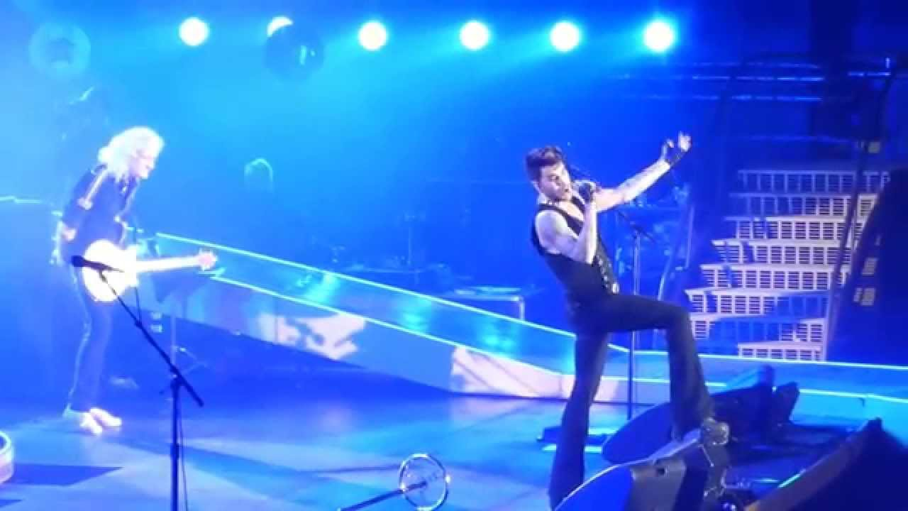 Queen and Adam Lambert - Somebody To Love - Liverpool Echo Arena February 26th 2015