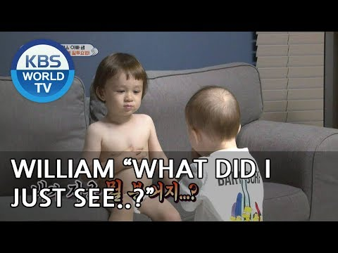 William thinks Ben is eating his poo LOL [The Return of Superman/2018.12.02]