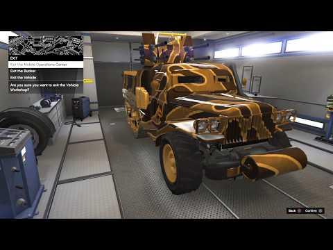 GTA Online Gun Running DLC Unlocking Proximity Mines