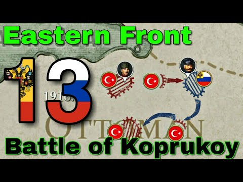 Battle Of Koprukoy. Россия - #13. European War 6: 1914