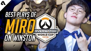 Every Winston Play by Miro at Overwatch World Cup 2016