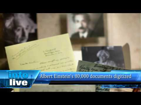 Albert Einstein's 80,000 documents digitized