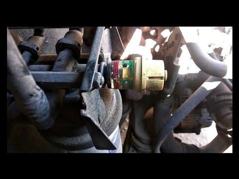Состояние индикатора топливного фильтра, пилю топливный фильтр после 10.000км на Лукойл.Форд Транзит