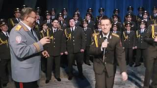 Хор МВД снял клип на песню Фаррелла Уильямса с танцующим инспектором ДПС