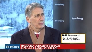 U.K.'s Philip Hammond on Brexit, Financial Services, and the Pound