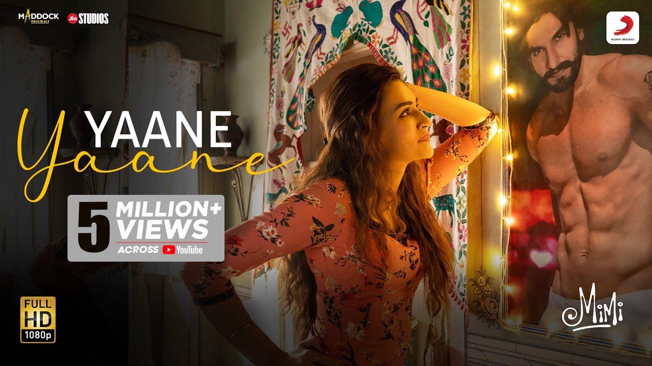 Yaane Yaane – Official Video | Mimi | Kriti Sanon, Pankaj T | @A. R. Rahman  | Amitabh | Rakshita