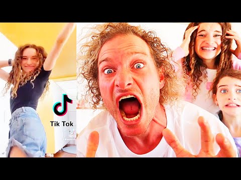 DAD REACTS TO OUR TIKTOKS (ending is shocking) w/ The Norris Nuts