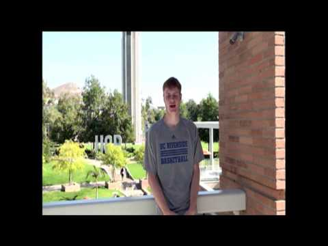 UC Riverside Basketball - Get to know Menno Dijkstra