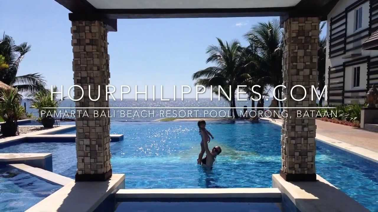 Pamarta bali beach resort pool morong bataan by youtube for Beach resort in morong bataan with swimming pool