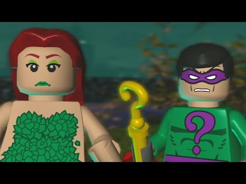 LEGO Batman: The Video Game Walkthrough - Villains Episode 1-3 - Green Fingers