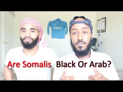 ARE SOMALIS CONSIDERED BLACK? (ARAB?!)
