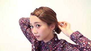1分でできちゃうヘアアレンジ☆ アーティスト/読者モデルとして活躍する...