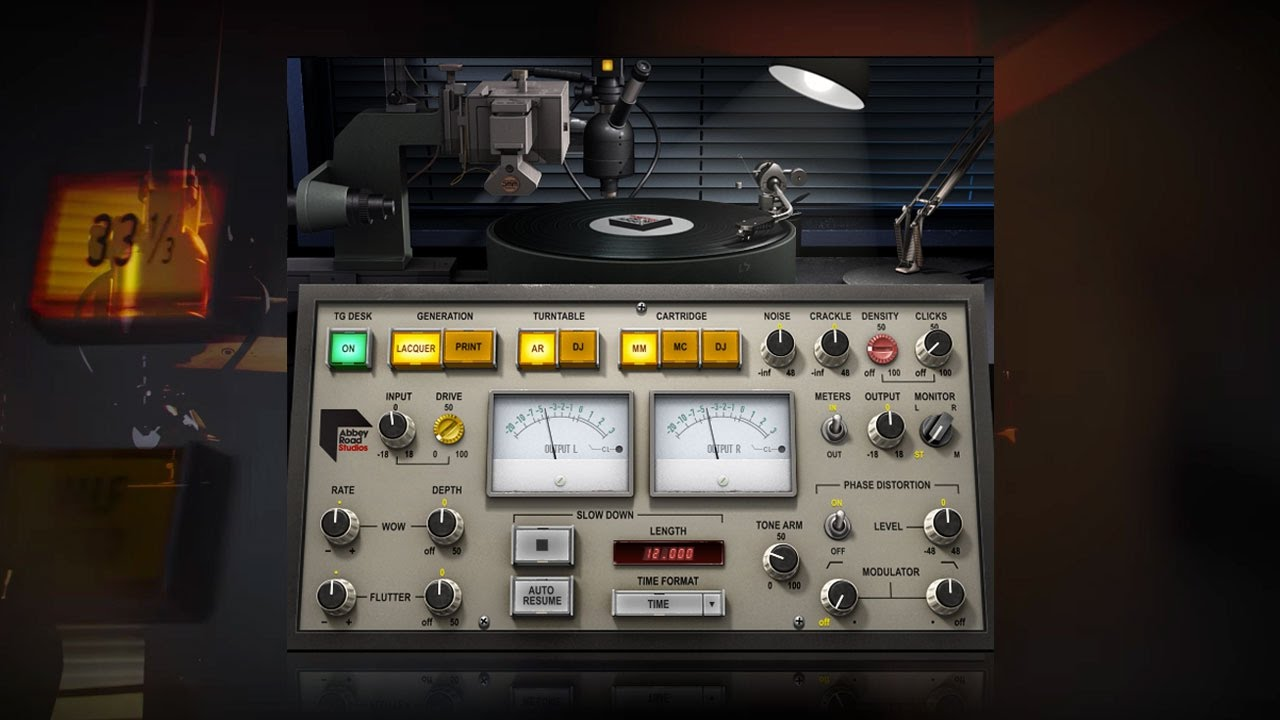 Introducing The Waves Abbey Road Vinyl Plugin Youtube