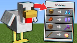 Minecraft, But You can Trade With Any Mob