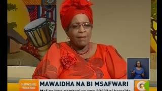 Mawaitha na Bi. Mswafari, tarehe 15, Oktoba 2016