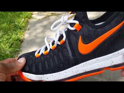 Nike Zoom KD 9 compared to Nike Zoom KD 10