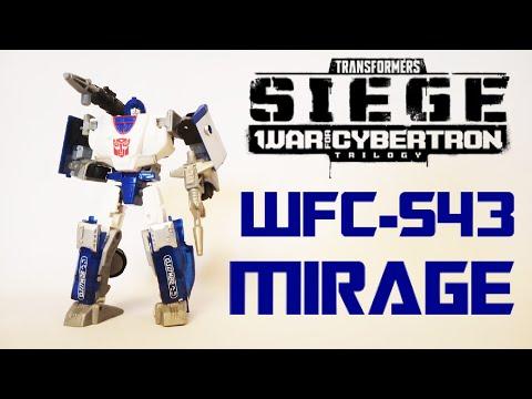 Обзор на TRANSFORMERS SIEGE - Autobot Mirage (WFC-S43)