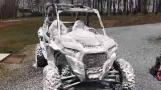 Foam Cannon on the new Polaris RZR