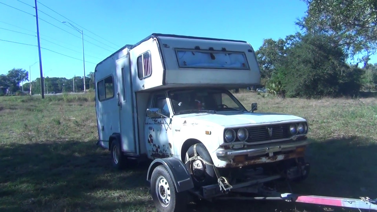 Toyota Shortest Micro Mini Motorhome