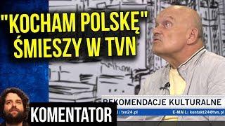 """""""Kocham Polskę"""" Przeszkadza i Śmieszy Gwiazdy TVN w TVN24 - Komentator"""
