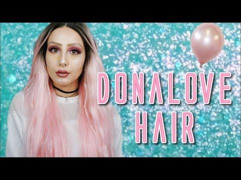 DONALOVE HAIR WIG | Couper/Coiffer sa perruque 💇
