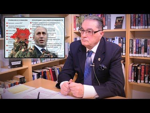 BALKAN INFO: General Nebojša Pavković - Kumanovski sporazum dozvoljava Kosovu da ima svoju vojsku!