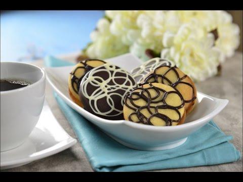 Galletas Con Chocolate Tipo Garabato 2 Versiones