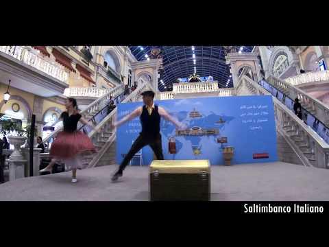 saltimbanco italiano present: Adventure show