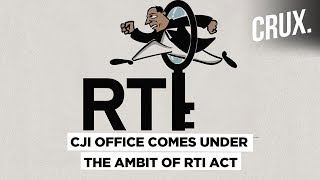 CJI's Office to Come Under RTI Ambit, Rules Supreme Court