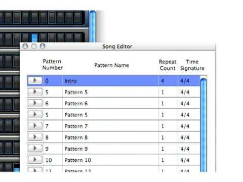 iDrum - Song Editor
