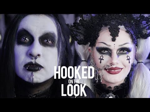 Couple Dress As Vampires Every Day | HOOKED ON THE LOOK