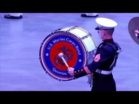 2018 Virginia International Tattoo - United States Marine Corps Band, Quantico