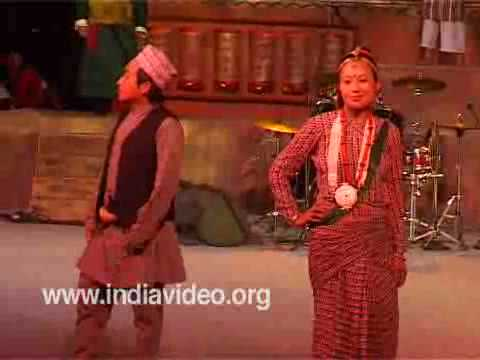 Traditional Attire Dress Costume Sikkim India