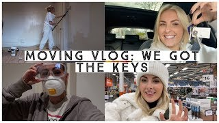 MOVING VLOG: WE GOT THE KEYS TO OUR NEW HOME!
