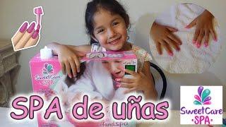 MI MAMA ME ARREGLA MIS UÑAS CON UN SPA PARA UÑAS - SWEET CARE SPA Video