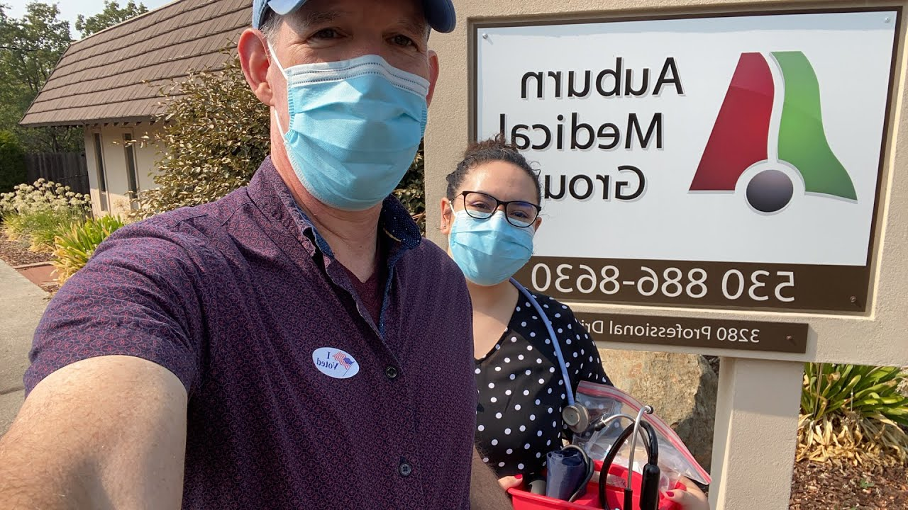 Walking to a House Call | Auburn Medical Group