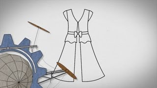 Making A Coat From A Shirt And A Skirt: Sewing Basics #4