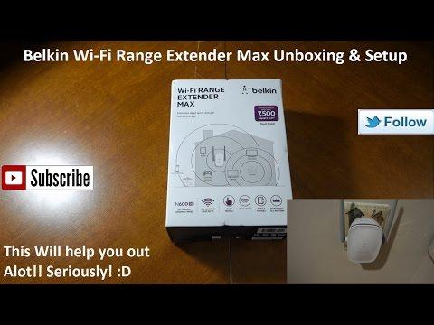 How to setup or reset the Belkin range extender | belkin range