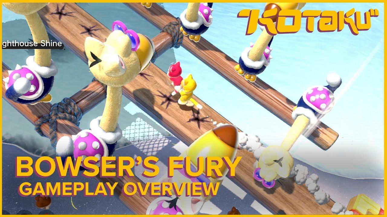 Bowser's Fury Gameplay - Kotaku