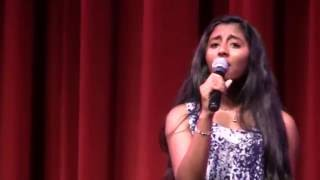 "Jeanna Joseph singing ""I know you by heart"" by Eva Cassidy"